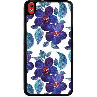 Ayaashii Flowers Pattern Back Case Cover for HTC Desire 816::HTC Desire 816 G