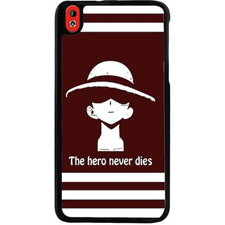 Ayaashii The Hero Never Dies Back Case Cover for HTC Desire 816::HTC Desire 816 G