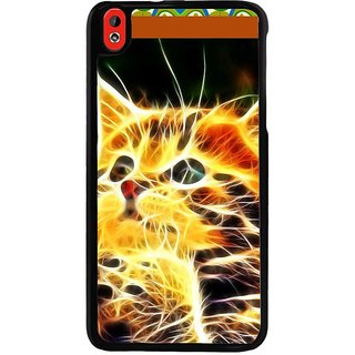 Ayaashii Cat In Transperent Color  Back Case Cover for HTC Desire 816::HTC Desire 816 G