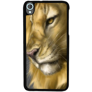Ayaashii Angry Lion Back Case Cover for HTC Desire 820::HTC Desire 820Q::HTC Desire 820S