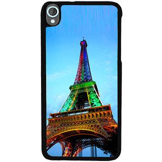 Ayaashii Eiffel Tower Back Case Cover for HTC Desire 820::HTC Desire 820Q::HTC Desire 820S