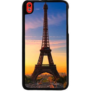 Ayaashii Eiffel Tower In Sunset Back Case Cover for HTC Desire 816::HTC Desire 816 G