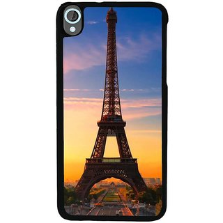 Ayaashii Eiffel Tower In Sunset Back Case Cover for HTC Desire 820::HTC Desire 820Q::HTC Desire 820S