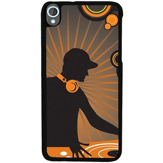 Ayaashii DJ Player Back Case Cover for HTC Desire 820::HTC Desire 820Q::HTC Desire 820S