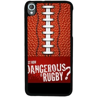 Ayaashii Dangerous Rouby Back Case Cover for HTC Desire 820::HTC Desire 820Q::HTC Desire 820S