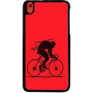 Ayaashii Cycle Rider Back Case Cover for HTC Desire 816::HTC Desire 816 G