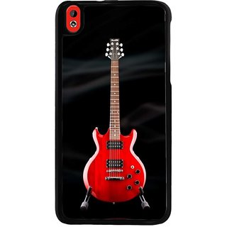 Ayaashii Red Guitar Back Case Cover for HTC Desire 816::HTC Desire 816 G