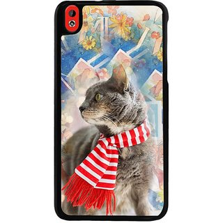 Ayaashii Sweet Cat Back Case Cover for HTC Desire 816::HTC Desire 816 G
