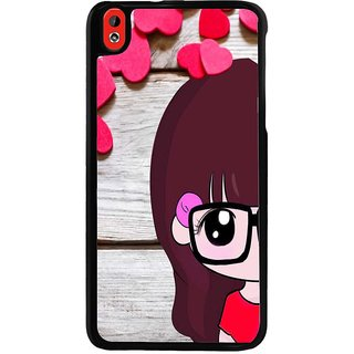 Ayaashii Cute Girl Back Case Cover for HTC Desire 816::HTC Desire 816 G