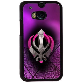 Ayaashii Sickhs Father Back Case Cover for HTC One M8::HTC M8