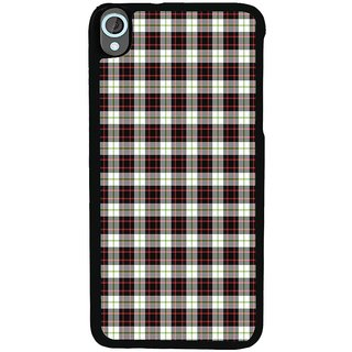 Ayaashii Check Pattern Back Case Cover for HTC Desire 820::HTC Desire 820Q::HTC Desire 820S