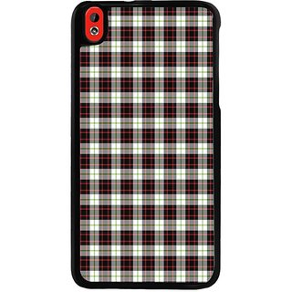 Ayaashii Check Pattern Back Case Cover for HTC Desire 816::HTC Desire 816 G
