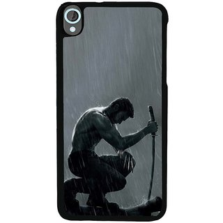 Ayaashii Fighter Back Case Cover for HTC Desire 820::HTC Desire 820Q::HTC Desire 820S