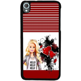 Ayaashii Hello Beauty Back Case Cover for HTC Desire 820::HTC Desire 820Q::HTC Desire 820S