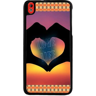 Ayaashii Love Life Back Case Cover for HTC Desire 816::HTC Desire 816 G
