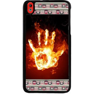 Ayaashii Burning Hand Back Case Cover for HTC Desire 816::HTC Desire 816 G