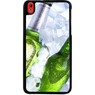Ayaashii Two Beer Bottels Back Case Cover for HTC Desire 816::HTC Desire 816 G