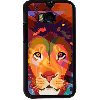 Ayaashii Sketch Of Tiger Back Case Cover for HTC One M8::HTC M8