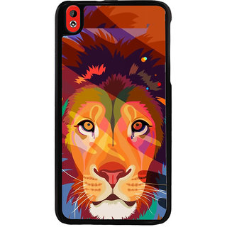 Ayaashii Sketch Of Tiger Back Case Cover for HTC Desire 816::HTC Desire 816 G