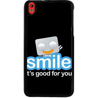 Ayaashii Smile Is Good For You Back Case Cover for HTC Desire 816::HTC Desire 816 G