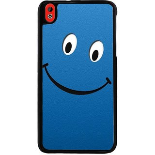 Ayaashii Happy Emoji Back Case Cover for HTC Desire 816::HTC Desire 816 G