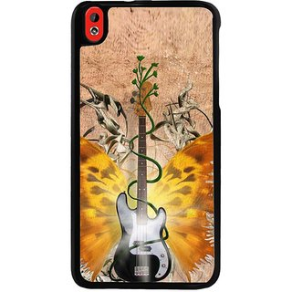 Ayaashii Guitar Back Case Cover for HTC Desire 816::HTC Desire 816 G