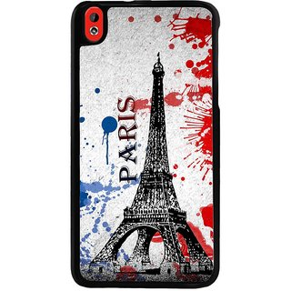 Ayaashii Paris Tower Back Case Cover for HTC Desire 816::HTC Desire 816 G