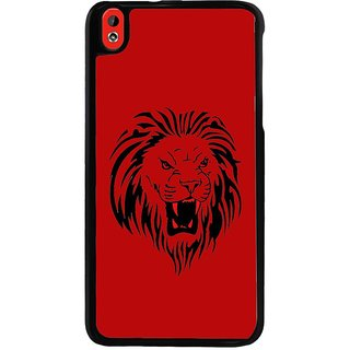 Ayaashii Sketch Of A Lion Back Case Cover for HTC Desire 816::HTC Desire 816 G