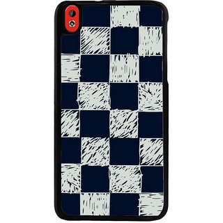 Ayaashii Chess Box Pattern Back Case Cover for HTC Desire 816::HTC Desire 816 G