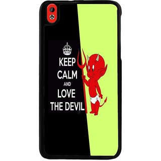 Ayaashii Love The Devil Back Case Cover for HTC Desire 816::HTC Desire 816 G