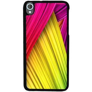 Ayaashii Colorful Stripes Back Case Cover for HTC Desire 820::HTC Desire 820Q::HTC Desire 820S