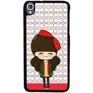 Ayaashii Cute Girl Back Case Cover for HTC Desire 820::HTC Desire 820Q::HTC Desire 820S
