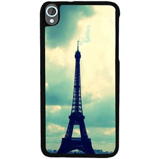 Ayaashii Eiffel Tower Back Case Cover for HTC Desire 820::HTC Desire 820Q::HTC Desire 820S
