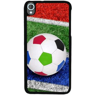 Ayaashii Football In Ground Back Case Cover for HTC Desire 820::HTC Desire 820Q::HTC Desire 820S
