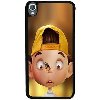 Ayaashii Butterfly On His Nose Back Case Cover for HTC Desire 820::HTC Desire 820Q::HTC Desire 820S