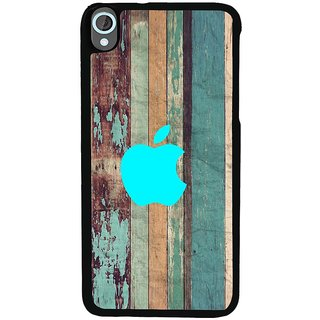 Ayaashii Aqua Apple With Pattern Back Case Cover for HTC Desire 820::HTC Desire 820Q::HTC Desire 820S