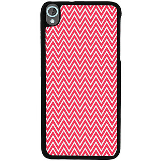 Ayaashii Zig Zag Pattern Back Case Cover for HTC Desire 820::HTC Desire 820Q::HTC Desire 820S