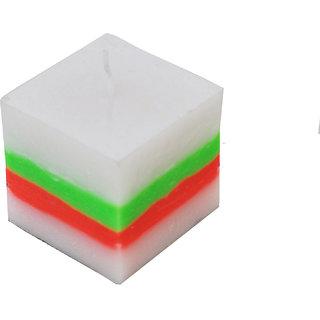 Cube Multi Colour Pillar