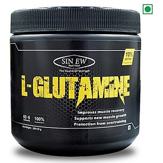 Sinew Nutrition L-Glutamine Powder (330gm)