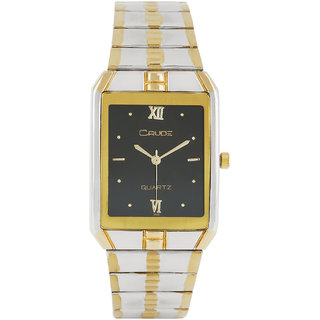 Crude Bond Analog Watch-rg54 With Stainless Steel Strap for - Men's Boy's