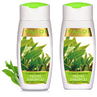 Vaadi Herbals - Value Pack Of 2 Superbly Smoothing Heena Shampoo With Green Tea Extracts (110 ml x 2)