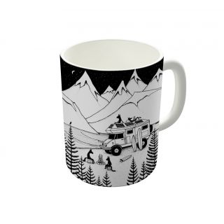 Dreambolic Camping With Dogs Coffee Mug-DBCM21149