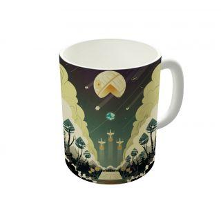 Dreambolic Death Star Pacman Coffee Mug-DBCM21232