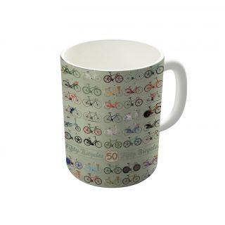Dreambolic Fifty Bicycles Coffee Mug-DBCM21365