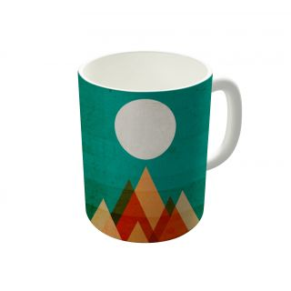 Dreambolic Full Moon Over Sahara Desert Coffee Mug-DBCM21438