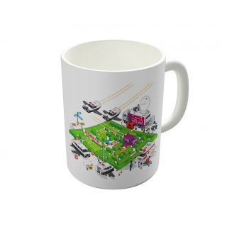 Dreambolic Pacman Crime Scene Coffee Mug-DBCM22047