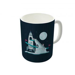 Dreambolic Penguin Space Race Coffee Mug-DBCM22069