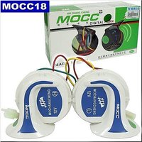 Mocc Horn Bike  Car Horn Set Imported With 18 Tunes