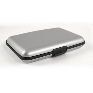 Silver Credit Cards Wallet
