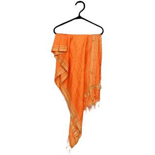Bhagalpuri Orange Dupatta